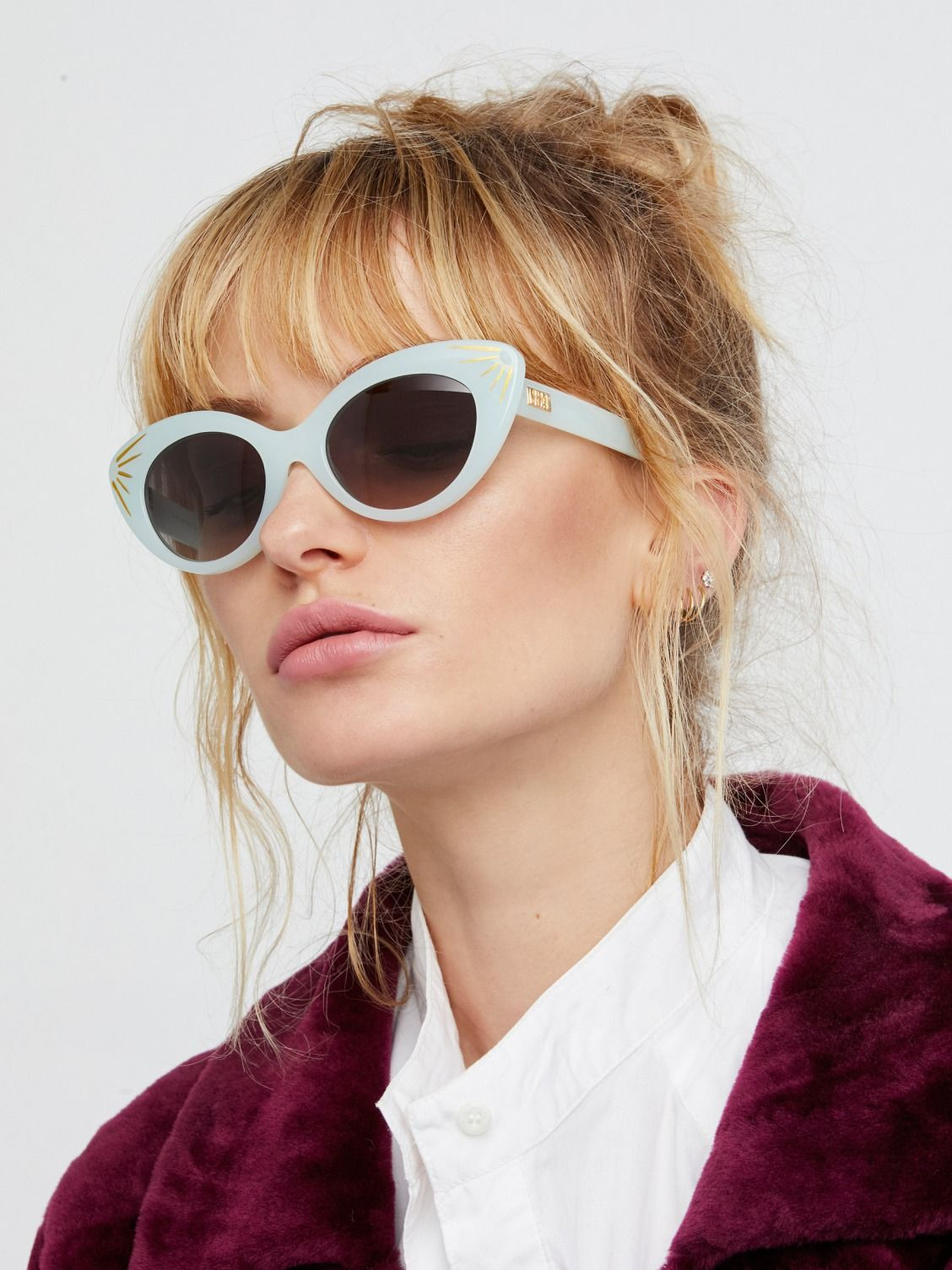 46de8e5fab4 CRAP Eyewear Gloss Powder Blue   Sunray The Wild Gift Sunglasses at Free  People Clothing Boutique