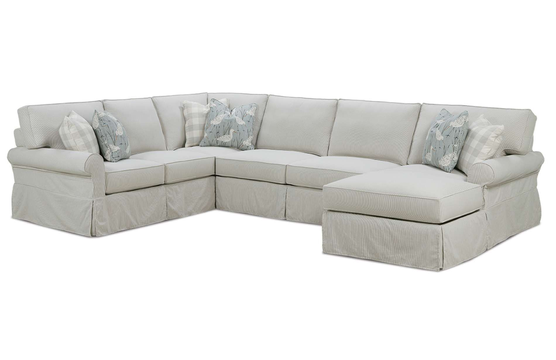The Easton Slipcover Sectional Sofa Is Perfect Centerpiece For A Living Room This Modern