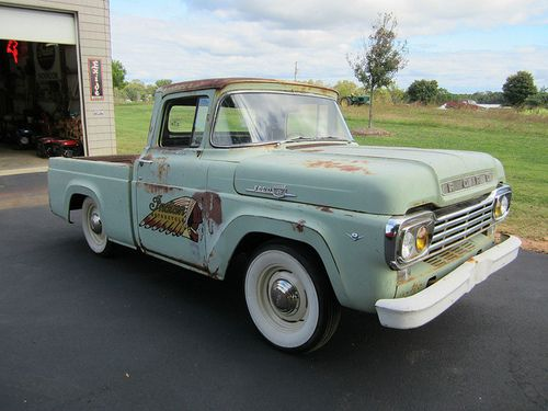 Ford F100 Indian Motorcycles Shop Truck Trucks Ford Trucks
