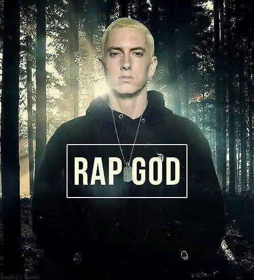 Cause im beginning to feel like a Rap God Rap God! :D i ...  Cause im beginn...