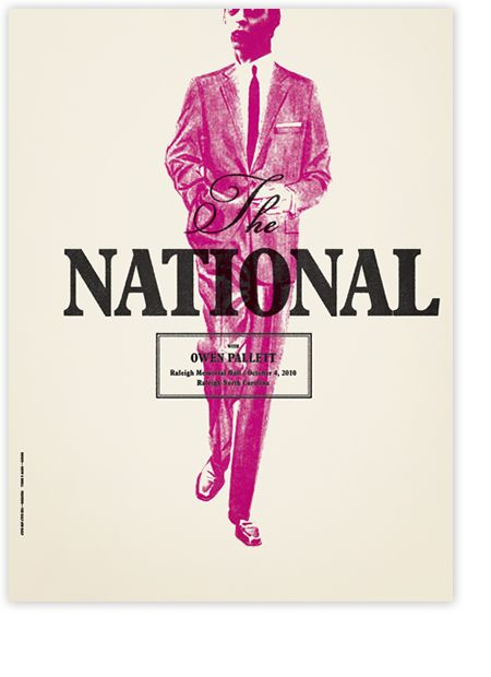 The National, poster