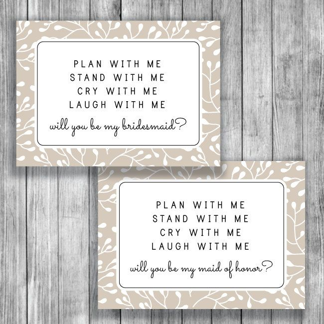 picture about Free Printable Bridesmaid Card identify Printable Bridesmaid Proposal - Will Your self Be My bridesmaid