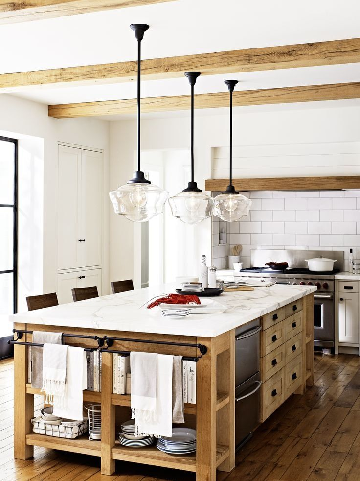 The Genius Spot to Add Open Shelving in Your Kitchen | Küche ...