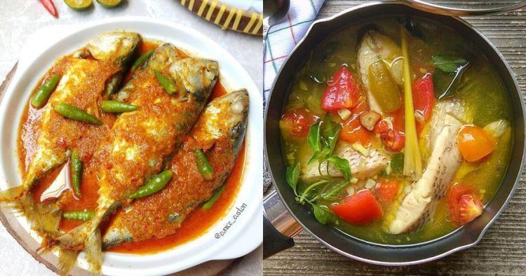 Banyak Sekali Resep Lezat Untuk Mengolah Ikan Menjadi Makanan Yang Lezat Di 2020 Resep Resep Masakan Masakan