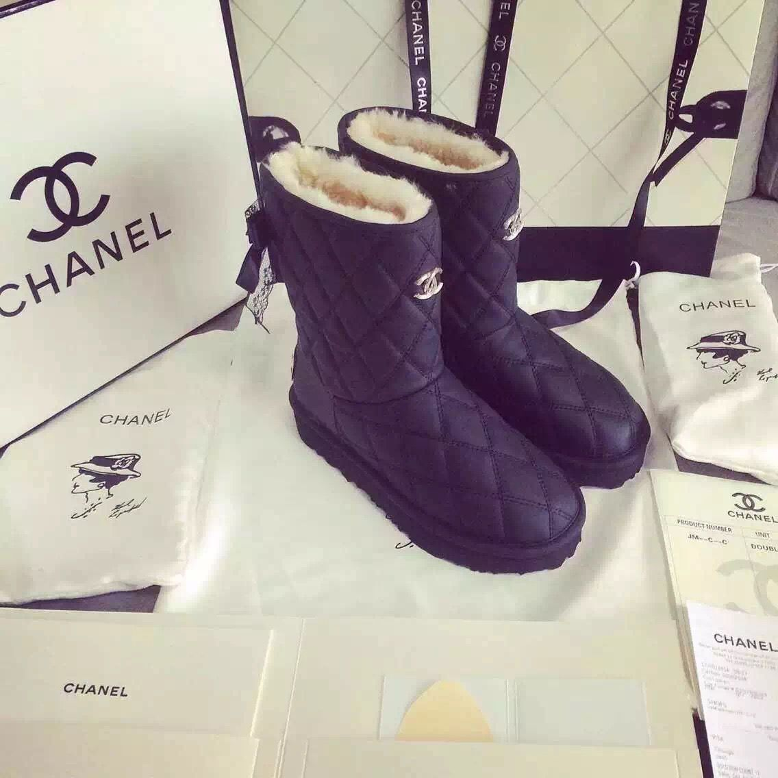 Buy CHANEL ST05872 35-40,Women Long Short Snow boots Snow boots ...