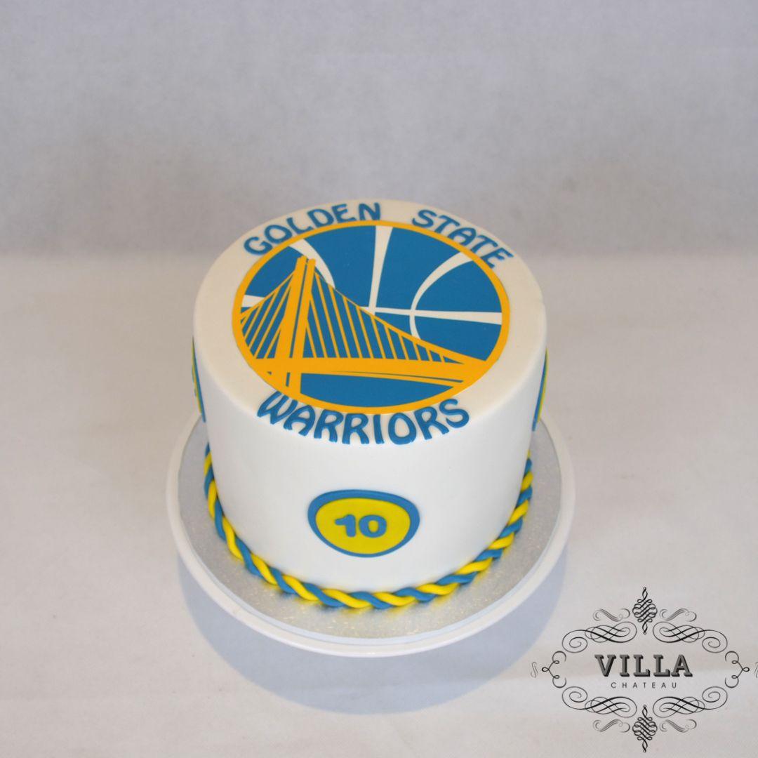 Golden State Warriors Birthday Cake Golden State Warriors Cake