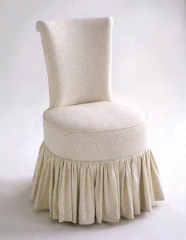 Girly Dressing Room Chair Bathroom Chair Fancy Chair