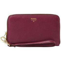 Fossil Sydney Zip Phone Wallet - Magenta - product - Product Review