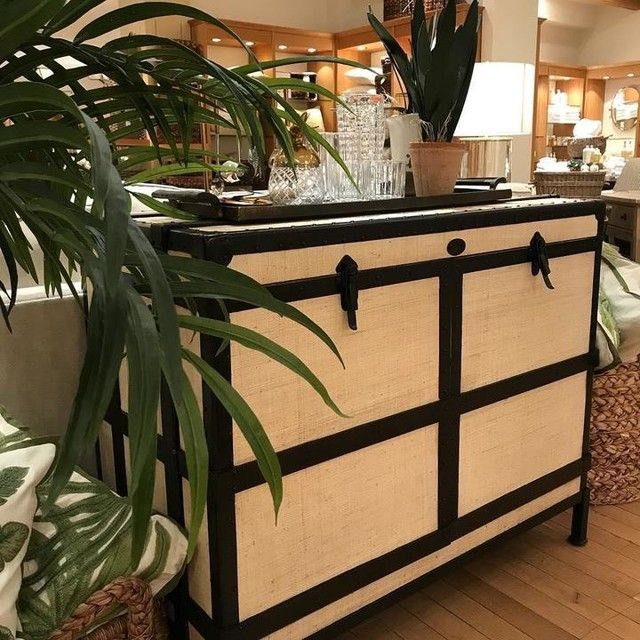 Ludlow Trunk Bar Cabinet Bar Furniture Cabinet