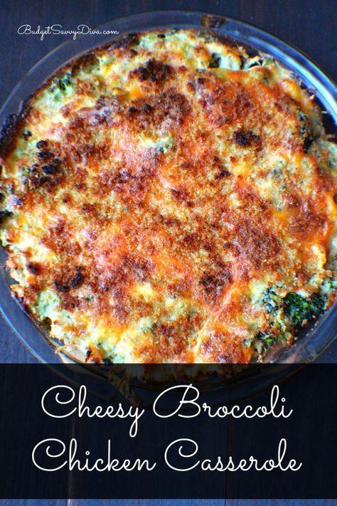 Chessy Broccoli Chicken Casserole  Recipe  Casseroles -7531
