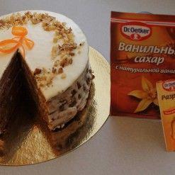 Академия кулинарного искусства Dr. Oetker / Рецепты / Морковный торт