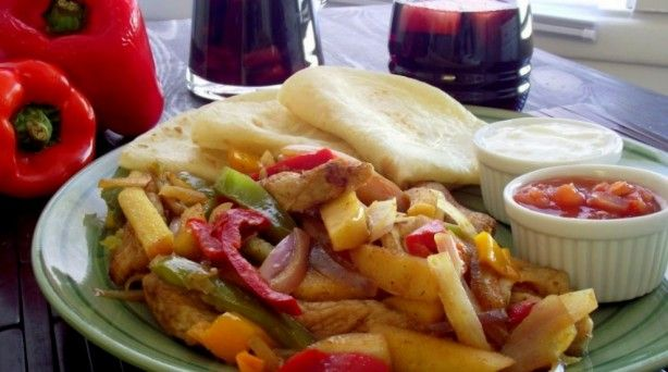 Pork & Apple Fajitas