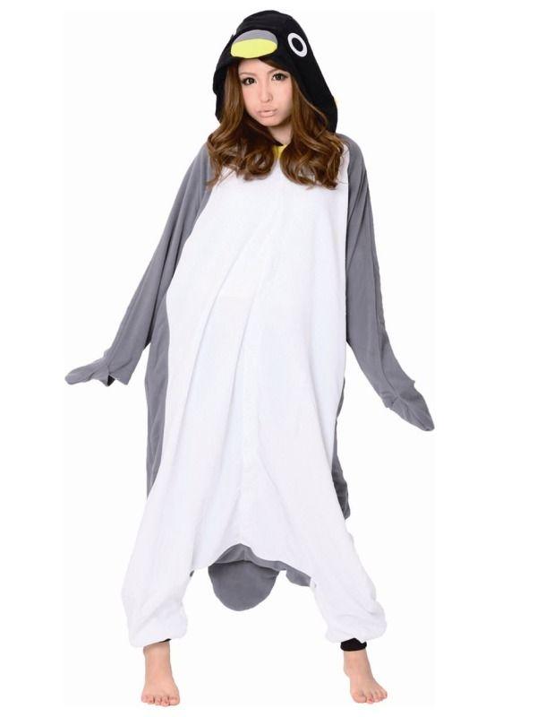 pingvin kostume voksen