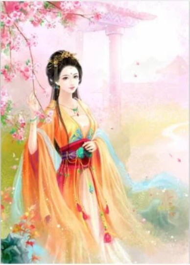 3D Chinese Girl  Woman  Diamond Painting kit DIY painting CLASSICAL  Full Drill