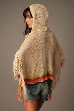 Outstanding Crochet: Poncho.
