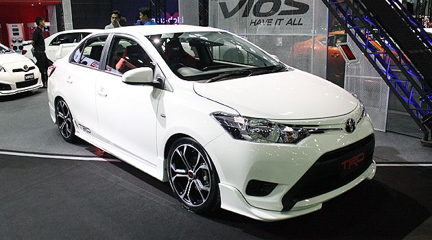 Oh Nice Toyota Ph To Display Trd Kitted All New Vios At