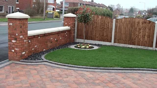 Block paving driveway ideas google search personal for Front garden drive designs
