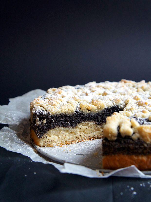 German Poppyseed Crumble Cake Recipe Cake Recipes