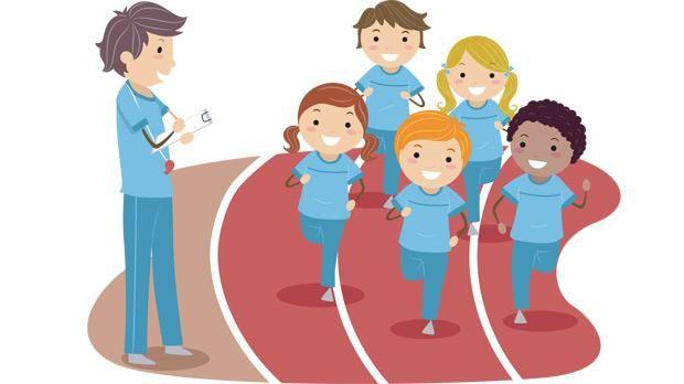 PE Teacher Cartoon | physical education teacher cartoon | Physical ...
