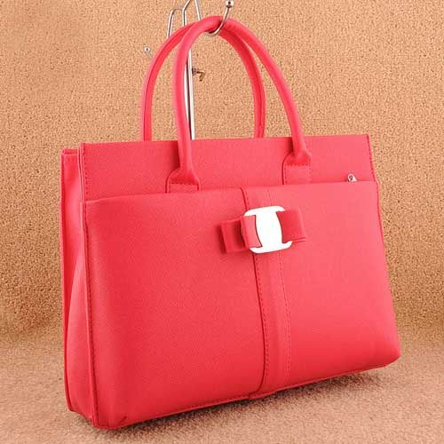 Rose red sakura retro satchel handbag
