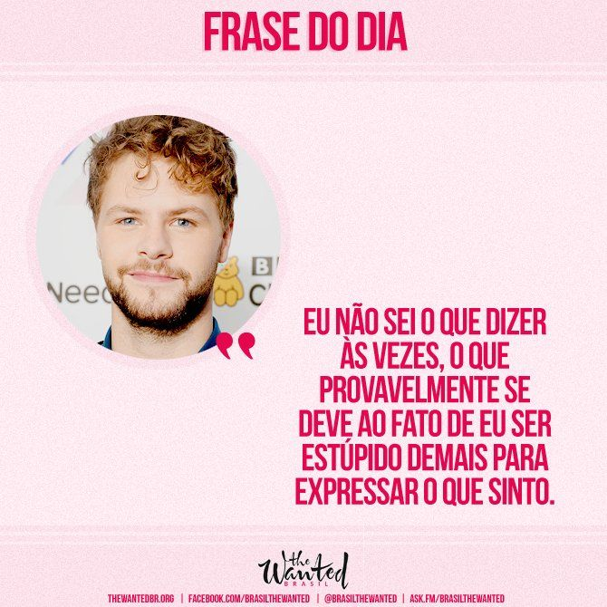 Frase de Jay McGuiness da The Wanted