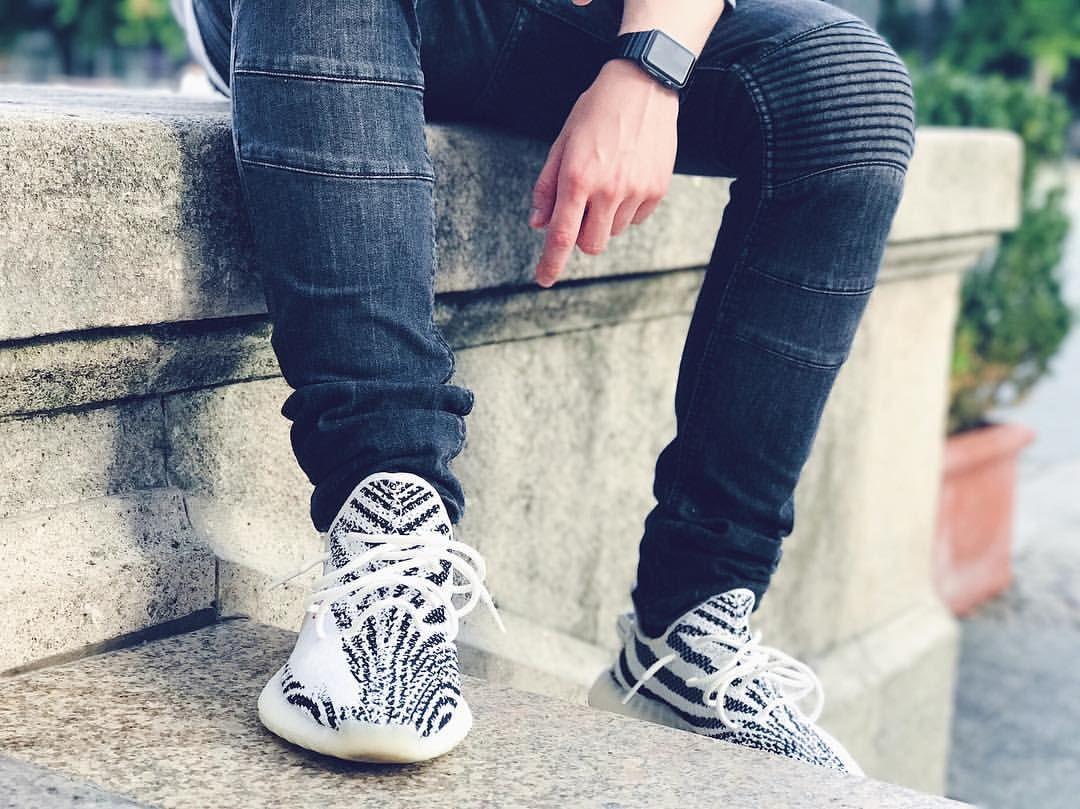 0f9ee6d676021 Whiteoptix - Adidas yeezy boost 350 v2 zebra sneaker by Kanye West ...