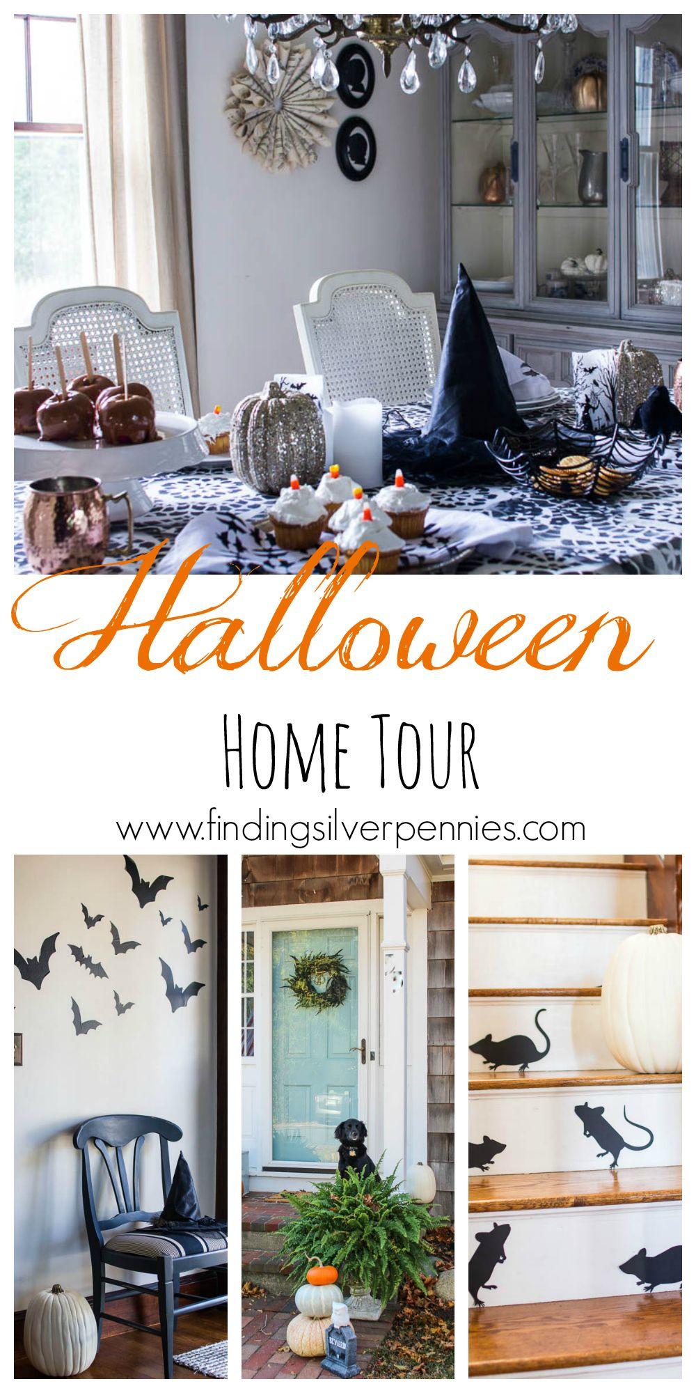 Halloween Home Tour   Halloween fun, Spooky halloween and DIY Halloween