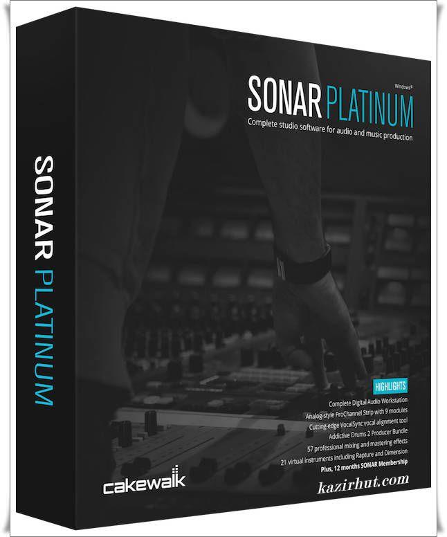 Cakewalk SONAR Platinum v22 6 0 26 Incl Keygen-R2R