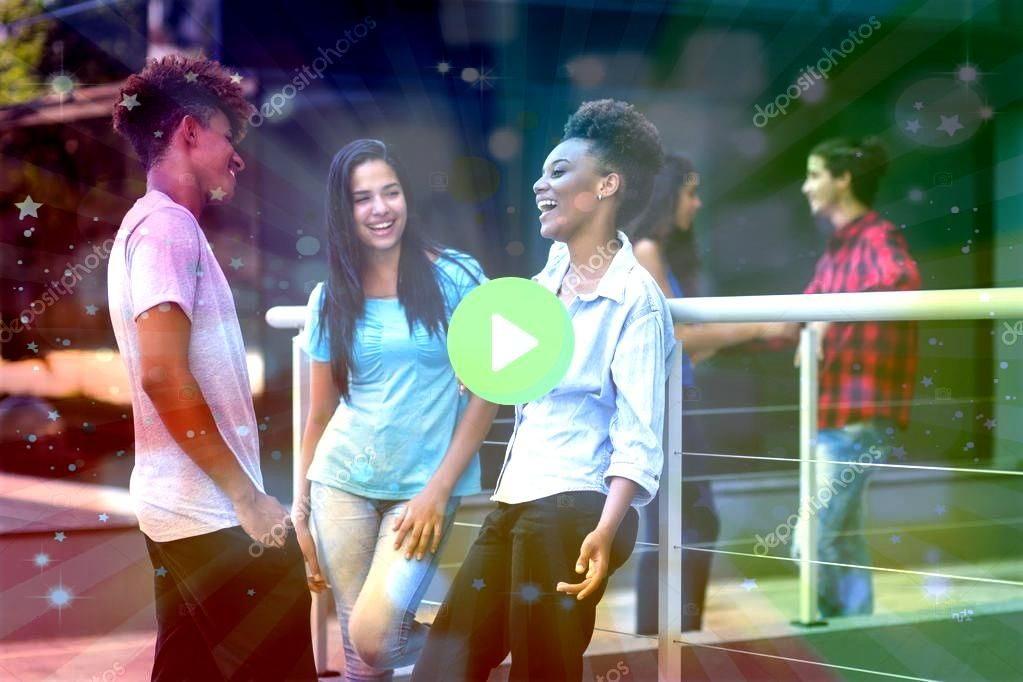 latin and hispanic and african american hipster young a  Stock Relaxing latin and hispanic and african american hipster young a  Stock  Ad Formed Abstract 3D TexturesBrus...