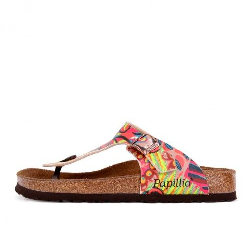 Papillio by Birkenstock Gizeh BF DD African Wax Raspberry #latestpickup  #lpu #sneakers