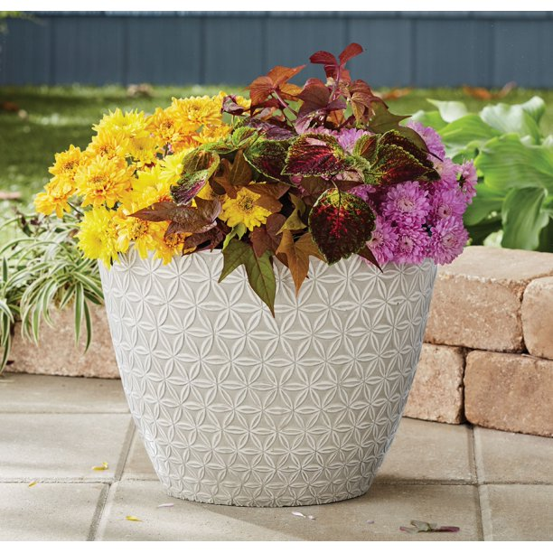1ee52a91c593727f5c32729ced159cfe - Better Homes And Gardens 16 Inch Round Planter