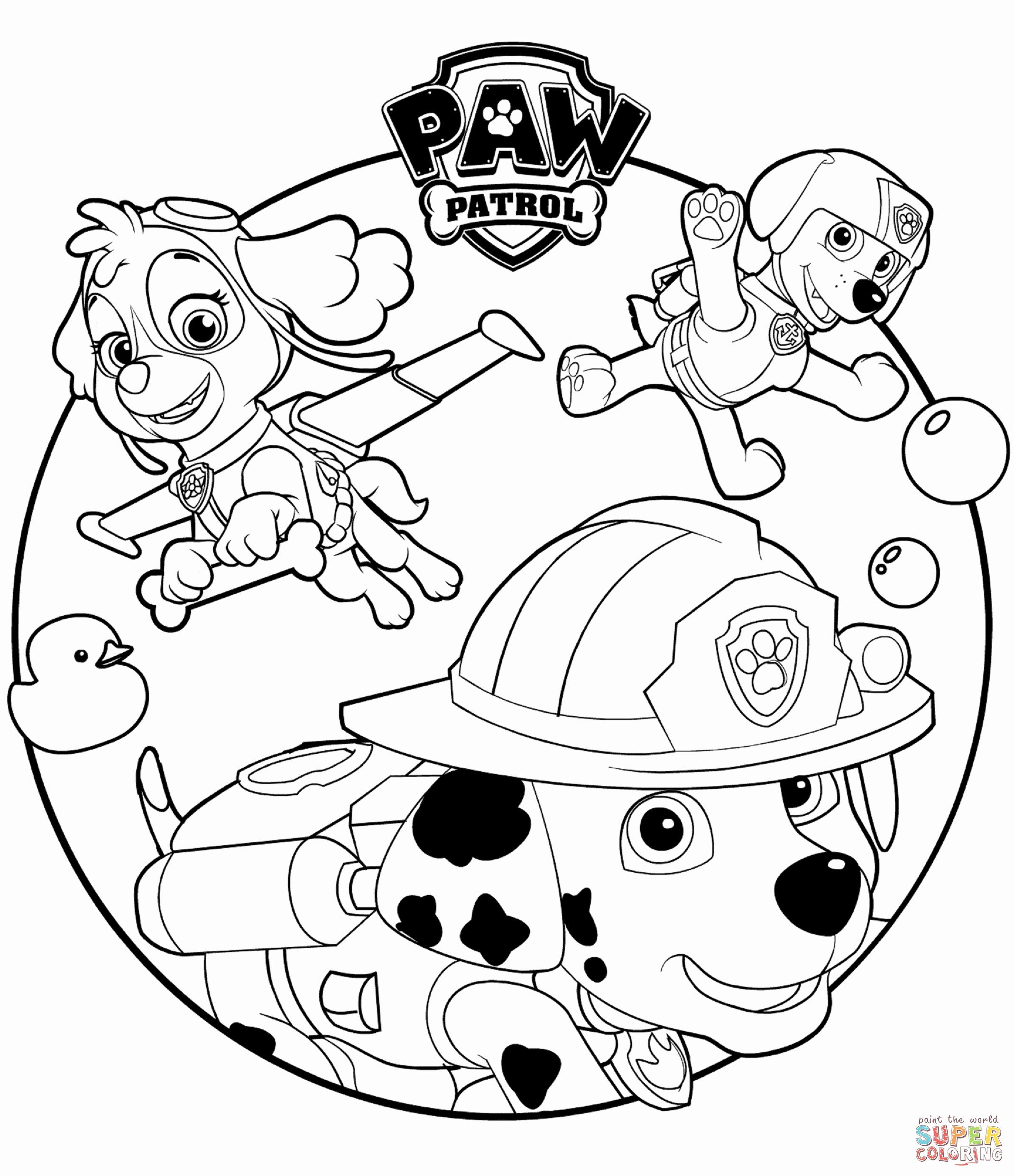 Paw Patrol Marshall Coloring Page Elegant Paw Patrol Coloring Pages Marshall And Firetruck In 2020 Paw Patrol Coloring Pages Paw Patrol Coloring Free Coloring Pages