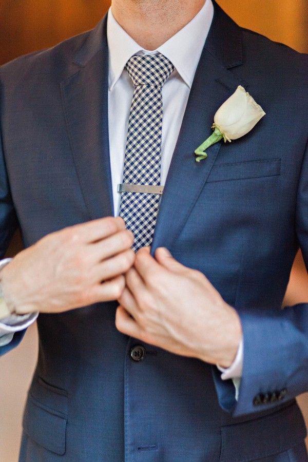 Bright and Rainy Phoenix Wedding | Junebug Weddings | Groom style, Groom  and groomsmen style, Gingham wedding