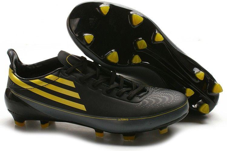 Adidas f50 adizero trx fg soccer cleats black yellow