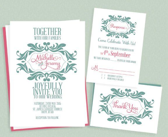 72 Beautiful Wedding Invite Printables To For Free