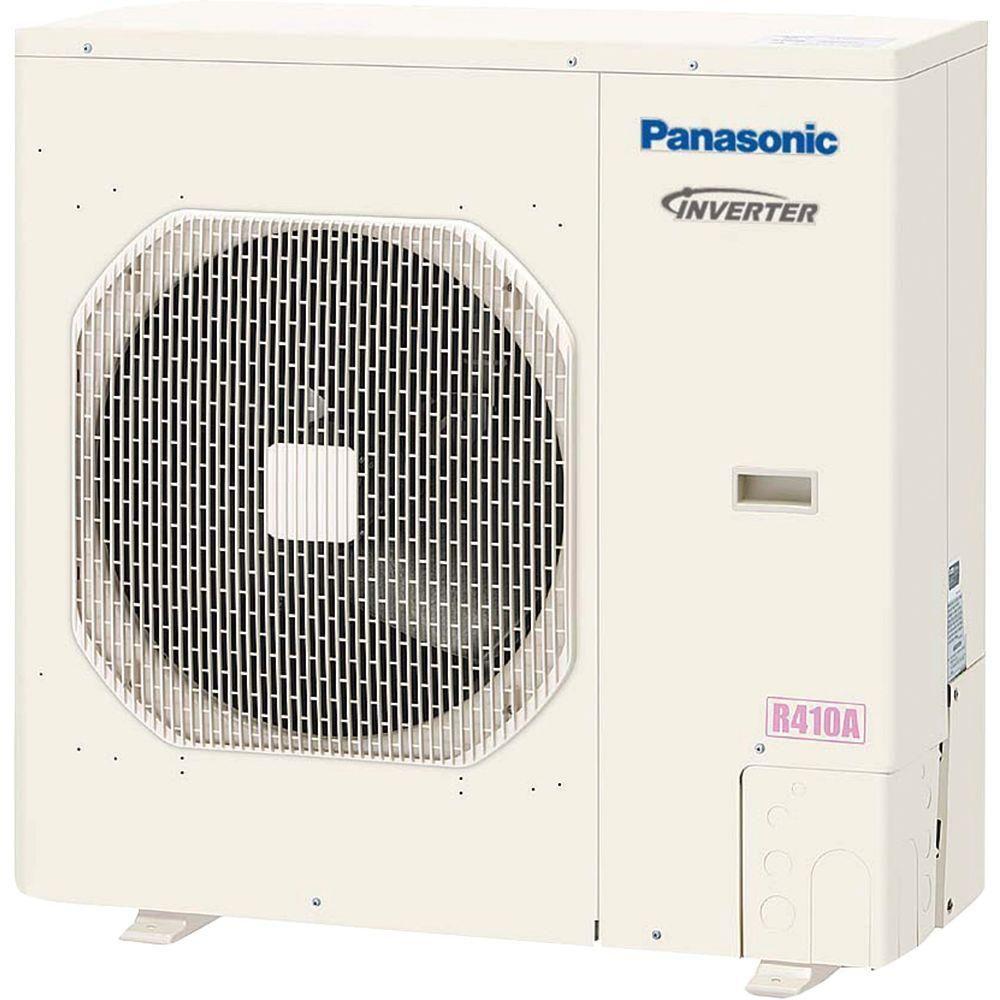 Panasonic 30600 Btu 2 5 Ton Ductless Mini Split Air Conditioner With Heat Pump 230volt Outdoor Unit Only White Ductless Mini Split Ductless Heat Pump