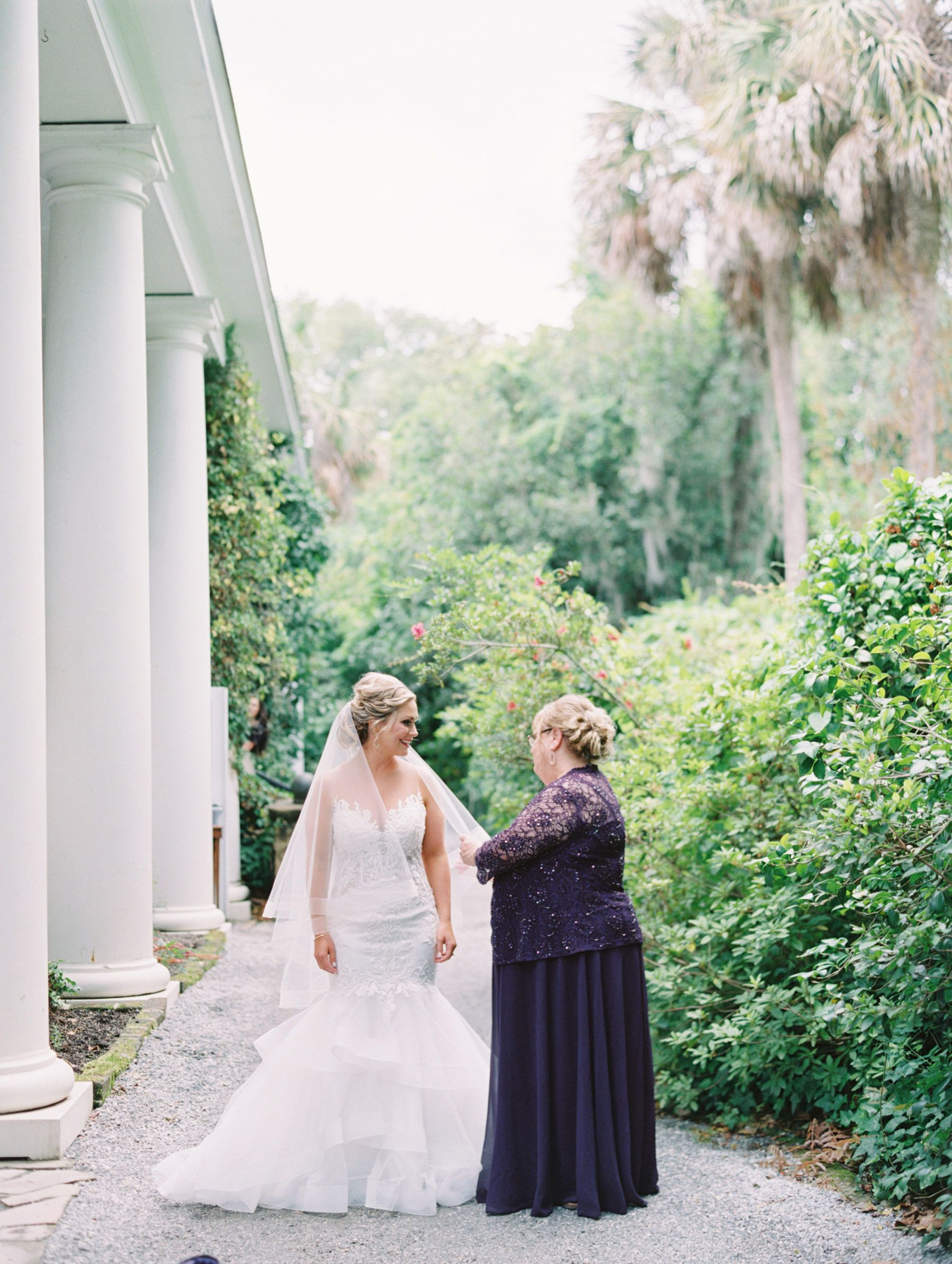 Intimate Southern Wedding at Magnolia Plantation in