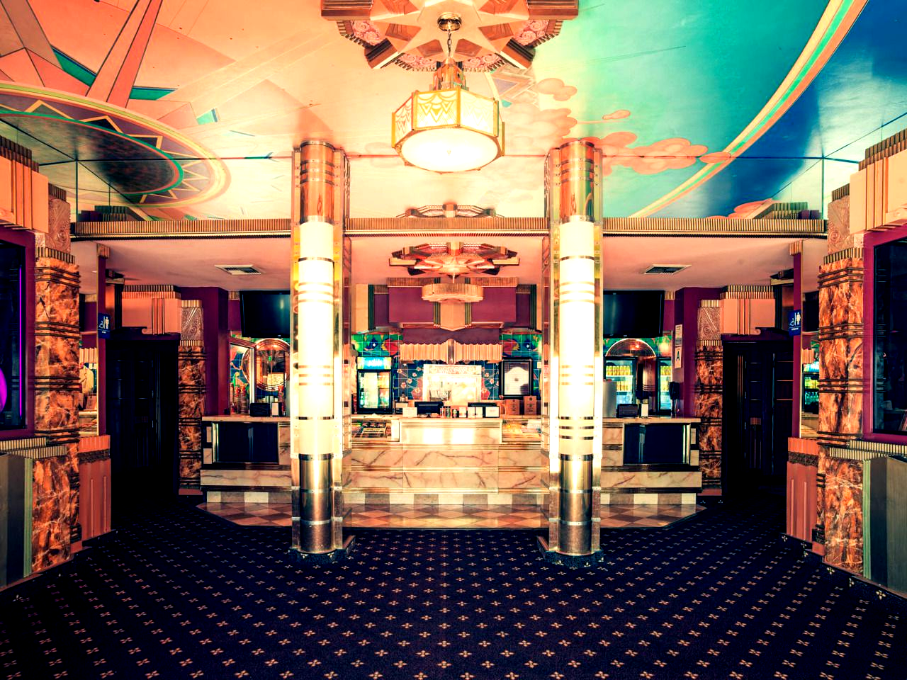 The Crest Theater Lobby Westwood Los Angeles California Franck Bohbot 2048 X 1536 In 2020 Westwood Los Angeles Los Angeles California California