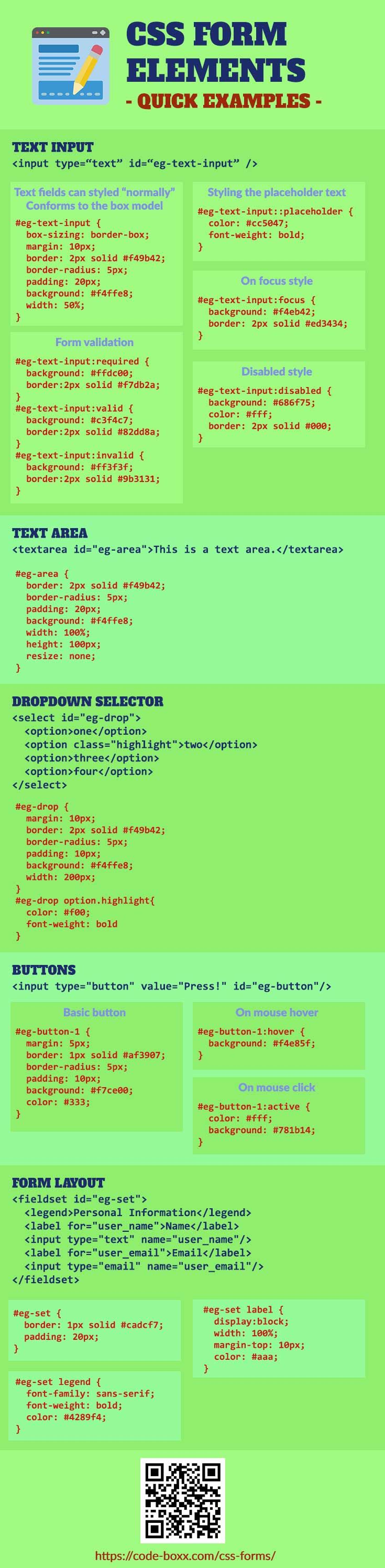 CSS Forms Explained For Beginners Web design tips
