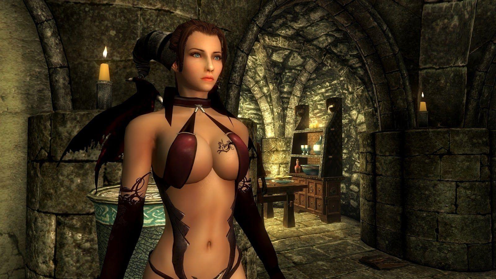 skyrim sexy outfit