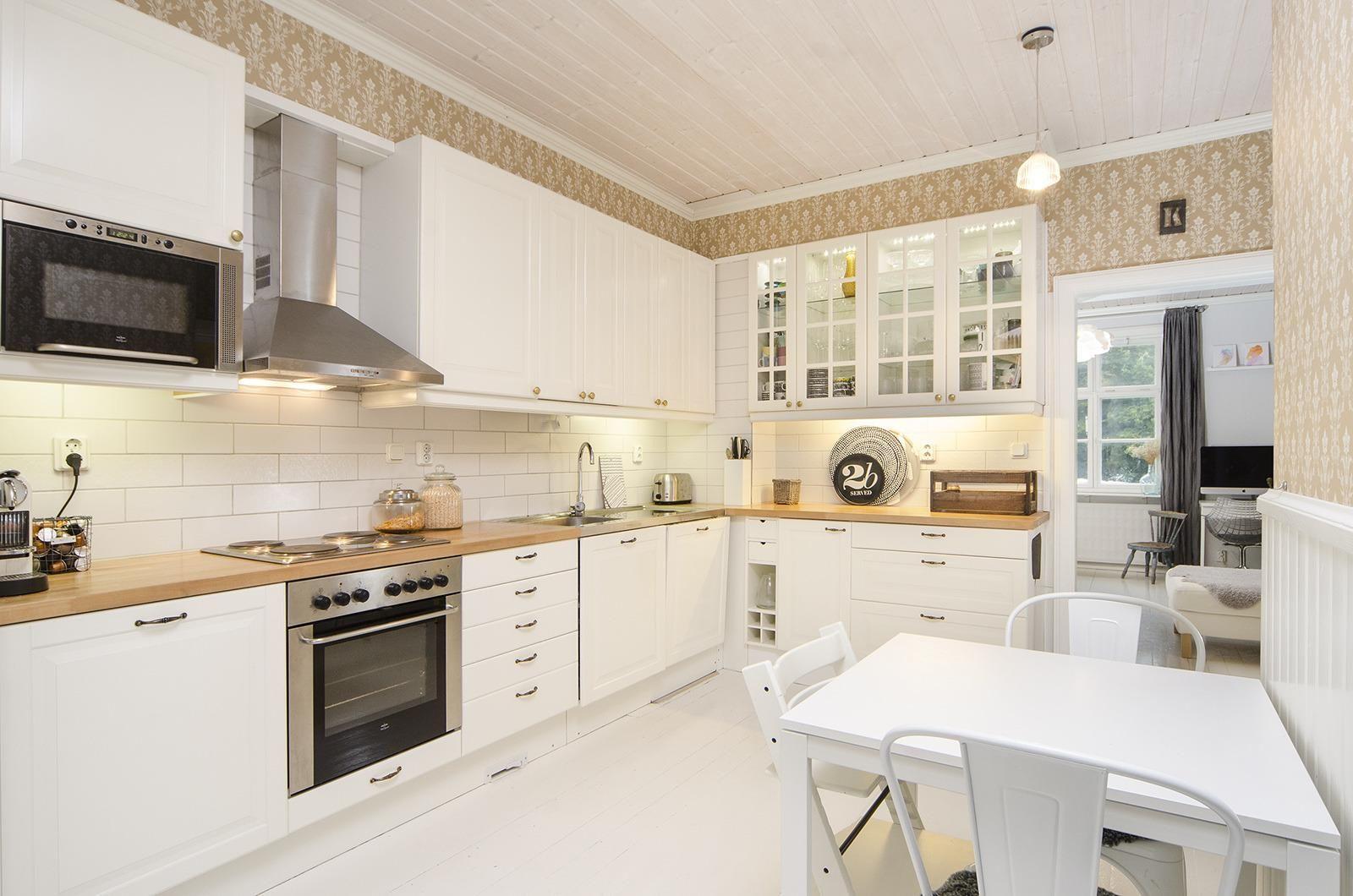 Maalaisromanttinen keittiö, Etuovi.com Asunnot, 55e588b6e4b02889961857ac - Etuovi.com Sisustus
