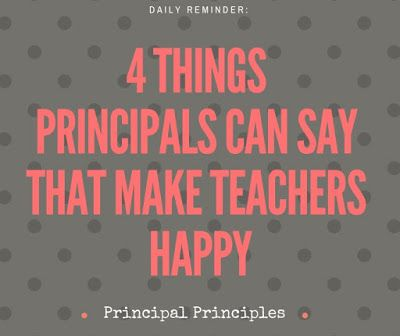 4 Things Principals Can Say That Make Teachers Happy Principal - assistant principal interview questions