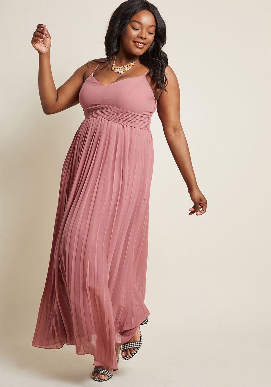 Modcloth Ceremonial Companion Maxi Dress In Dusty Rose Xxs 4x Plus Size Pink Bridesmaids Dress Long Bridesmaid Dr Dusty Rose Dress Maxi Dress Pretty Maxi Dress [ 1304 x 913 Pixel ]