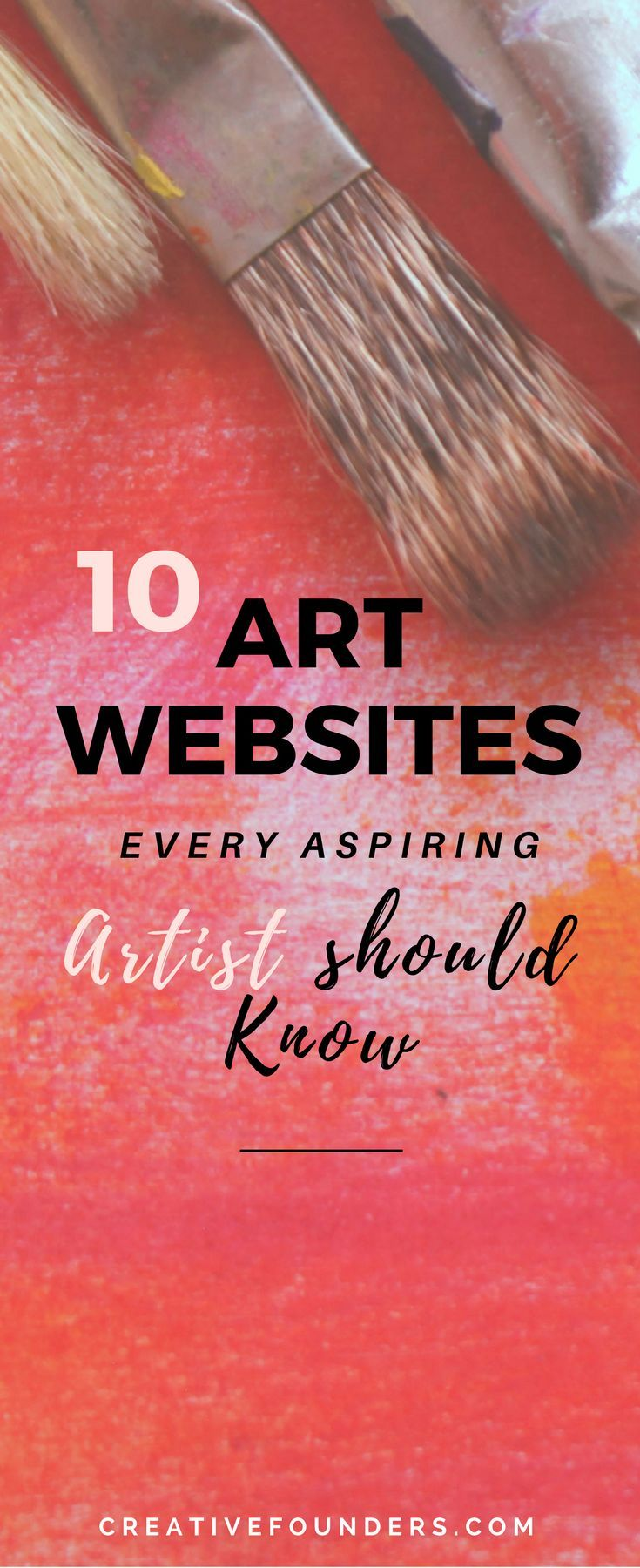 Artist Marketing Resource // ArtMaze Mag // Carve Out Time for Art // The Jealous Curator // The Artist Market Co. // Creative Boom // Maria Brophy // The Art Biz Blog // Artsy Shark // The Abundant Artist // Creative Founders // Creativefounders.com #art #artbiz #sellartonline #artwebsites #sellart