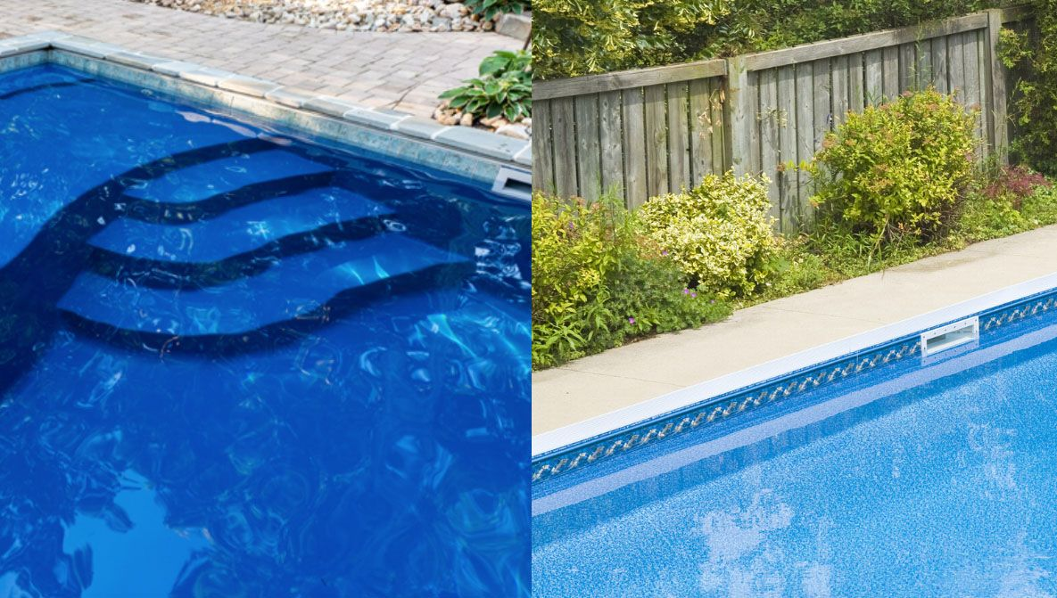 Ultimate Fiberglass Pool Vs Vinyl Liner Pool Video Fiberglass Pools Inground Pool Designs Vinyl Liners