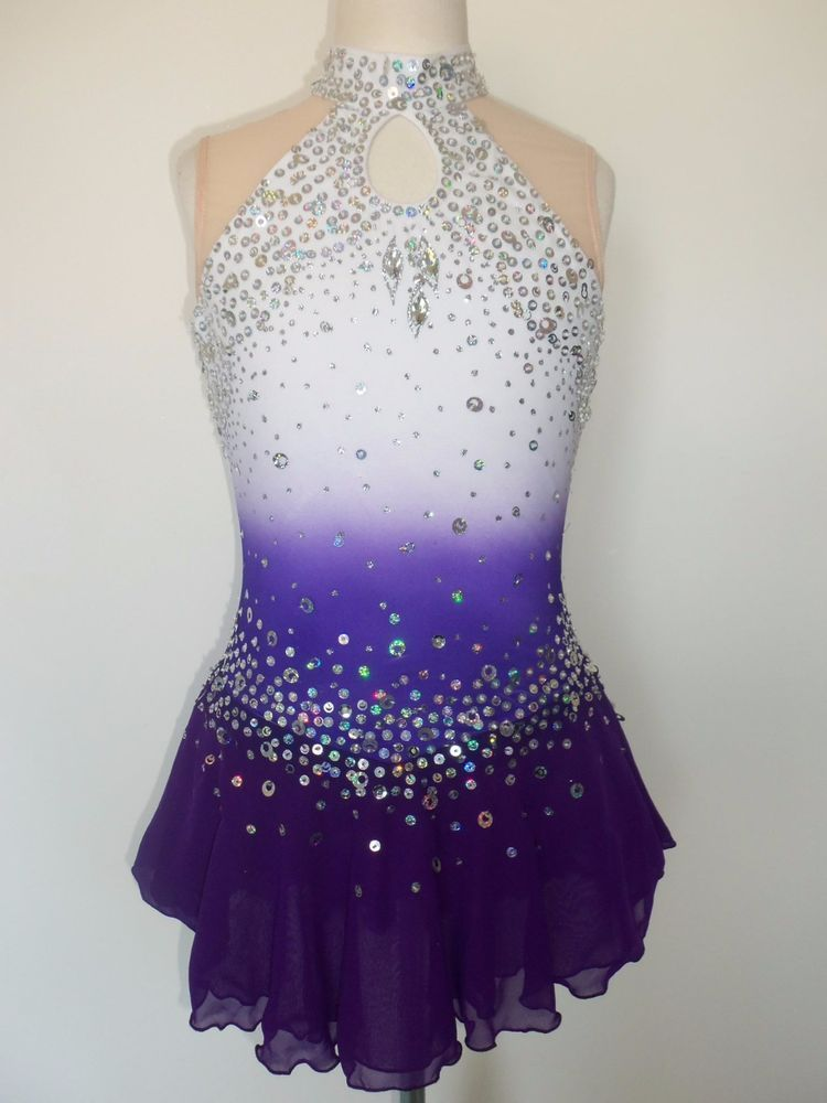 how to make a figure skating dress