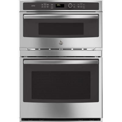 Ge Profile 30 In Electric Convection Wall Oven With Built