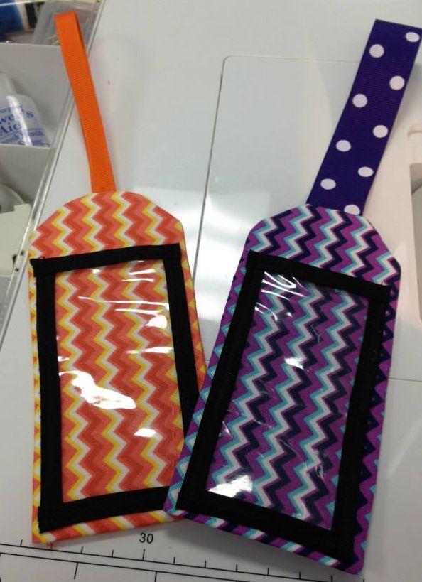 Bag Tags - Free Pattern!