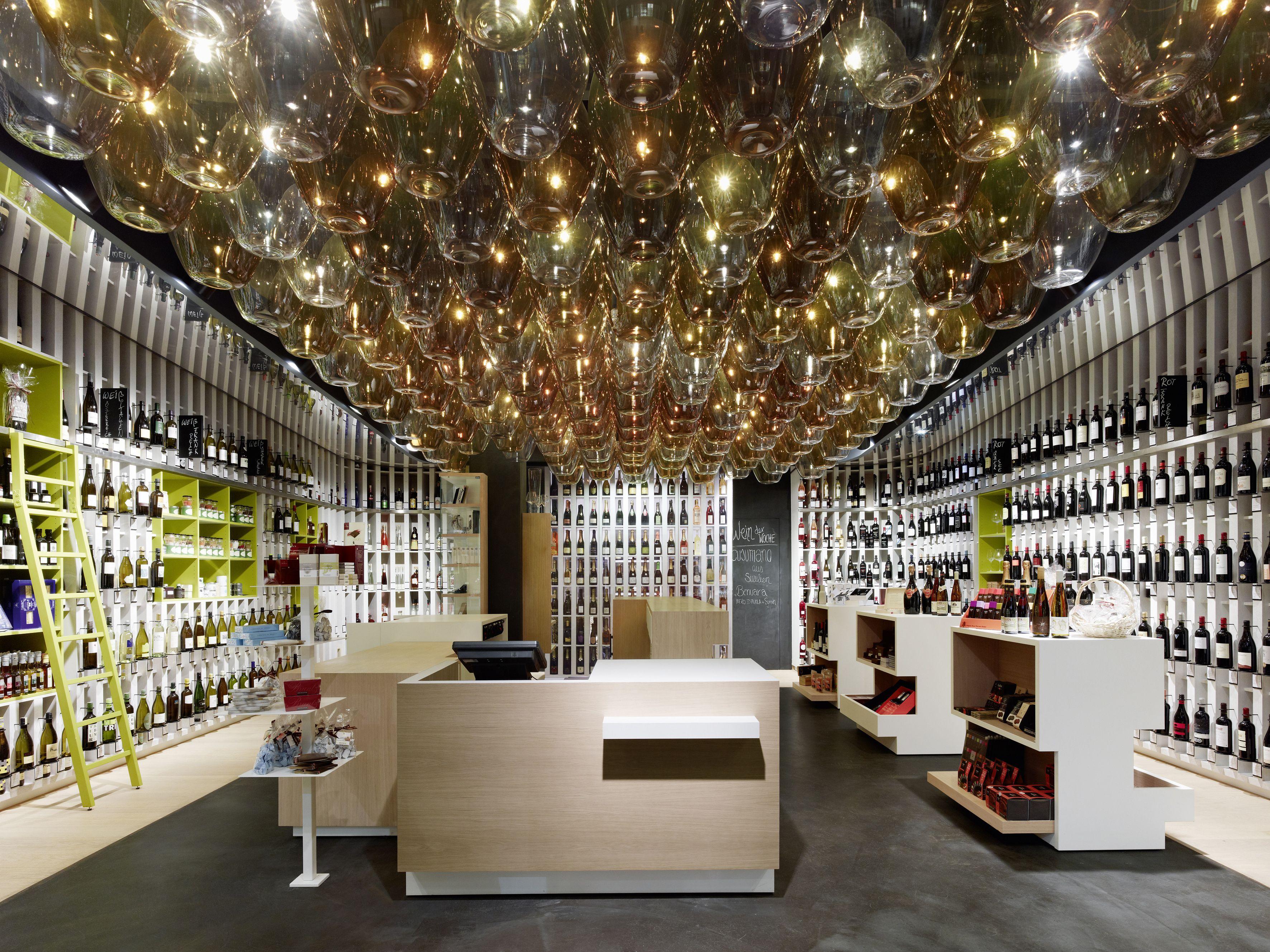 Wein & Wahrheit by Ippolito Fleitz Group - Interior design - Retail