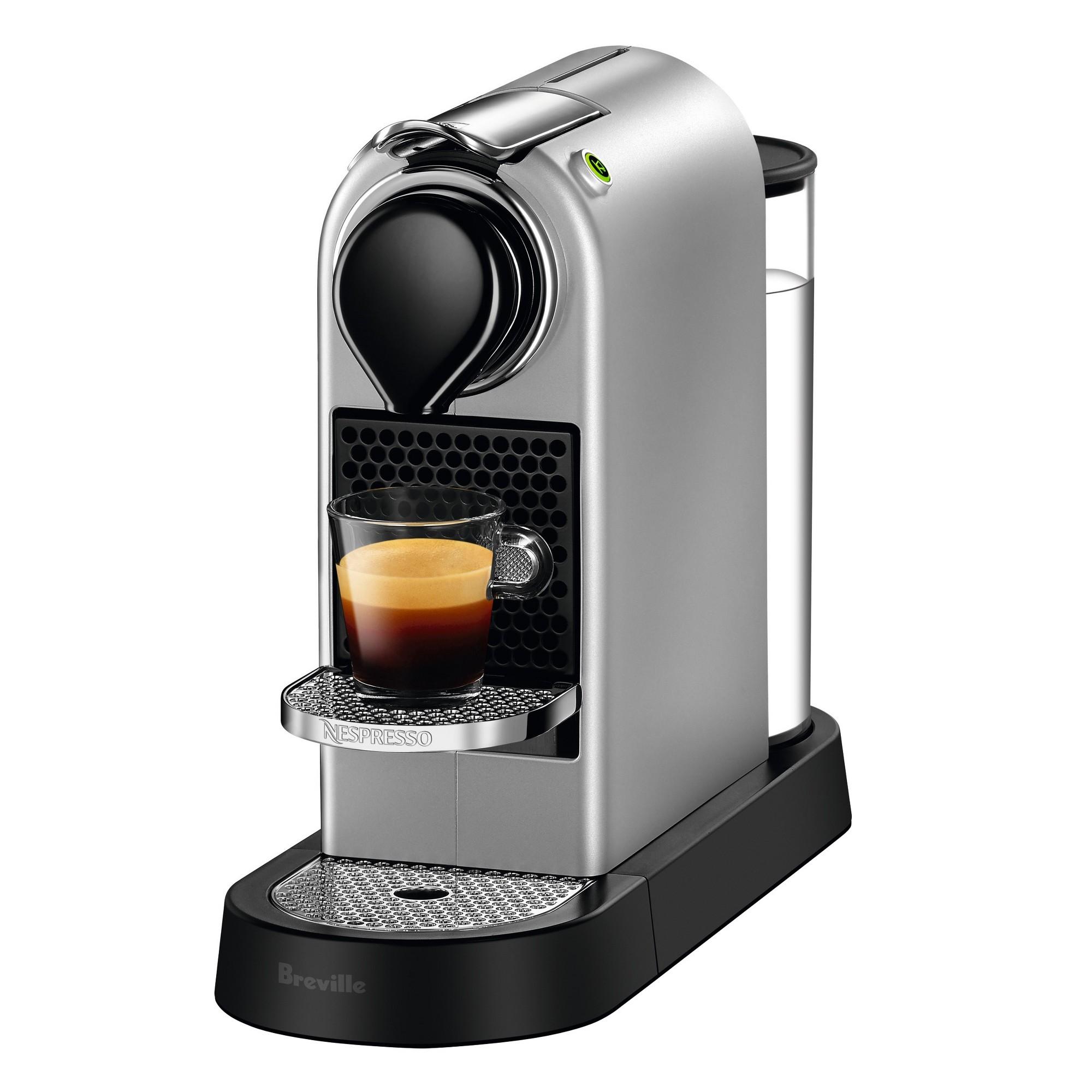 Nespresso CitiZ's Silver by Breville, Medium Silver Pod